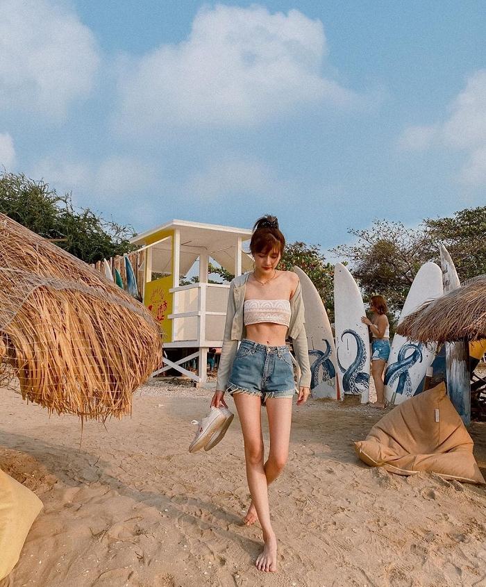 泰國蜂腰美少女「Sinesyn」超有个性写真照 清纯美女-第2张