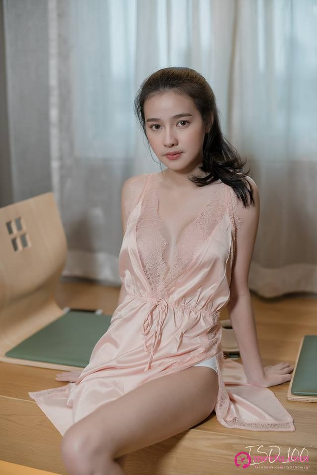 泰国性感女神Namcha Rangsinan 天然美胸写真 性感美女-第2张