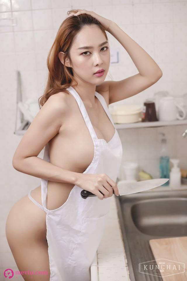 泰国性感女神Tharinton Donmuensri诱惑保姆写真照 性感美女-第2张