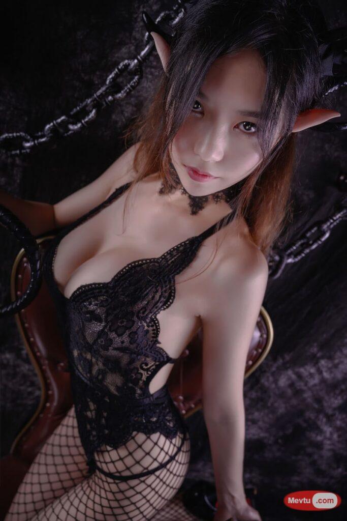 [Mikomi Hokina]玉藻前女仆装 VS 抖娘利世魅魔  精选 性感美女-第1张