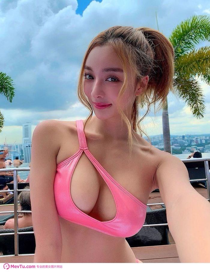 日本美女明星「Rirey」比基尼写真照片 清纯美女-第2张