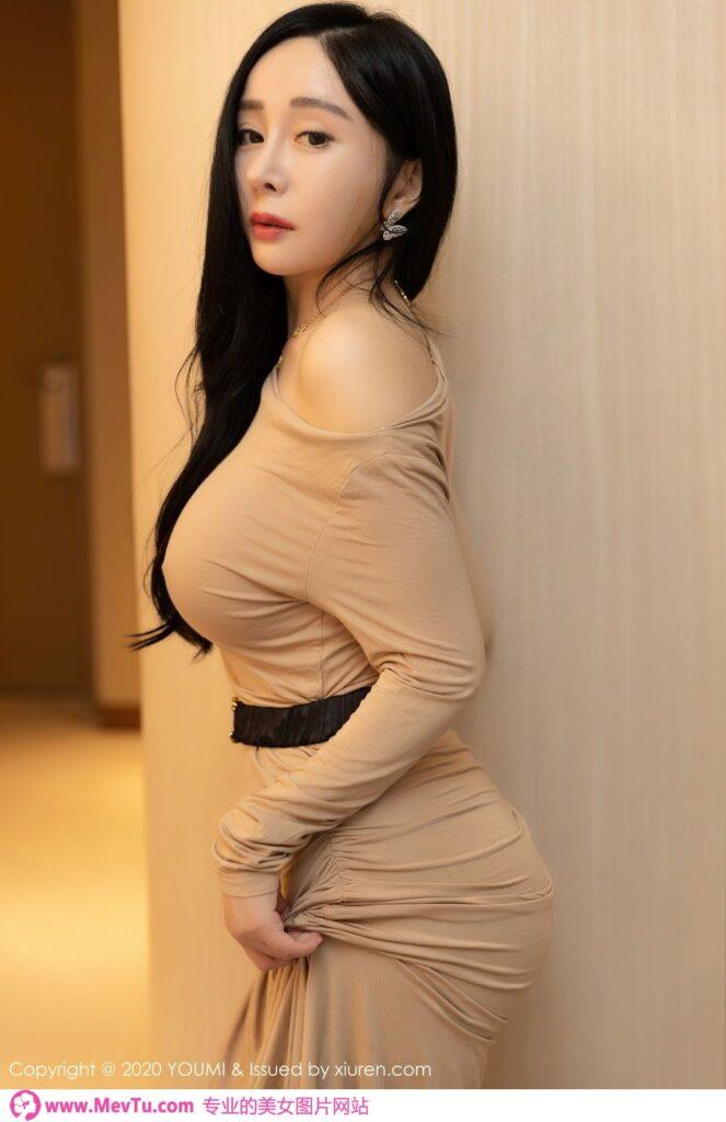 小杨幂!VOL.553 真空高跟包臀长裙允儿高清写真 性感美女-第1张