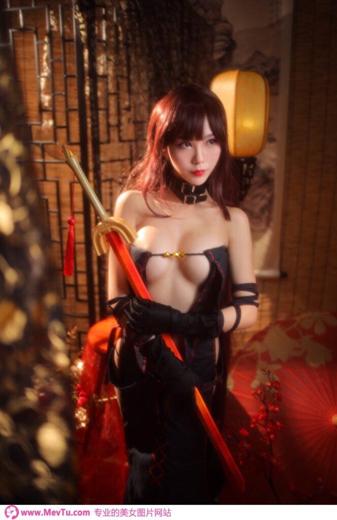 [抖娘利世] Consort Yu 虞美人 (Fate/Grand Order) 性感美女-第1张